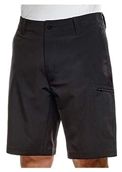 ZeroXposur Men s Stretch Travel Shorts  38 Black