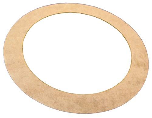 Junta Papel para radiador hierro fundido–56x 41.5x 0.5mm–caja de 25juntas–Gripp