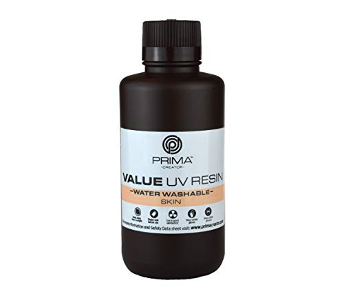 PrimaCreator Value Water Washable UV Resin - 500 ml - Skin