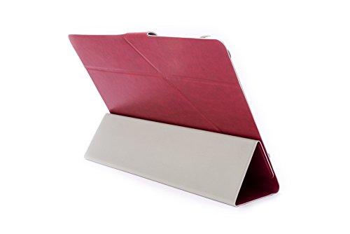Silver HT 111938240199 - Funda Universal Superslim de 9''-10'', Color Rojo