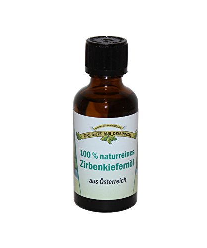 Zirbenkiefernöl 50 ml 100% naturreines Zirbenöl