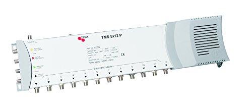 Triax TMS 5x12 P Multischalter (5 Eingängen (4X SAT, 1x terrestrisch) und 12 Ausgängen)