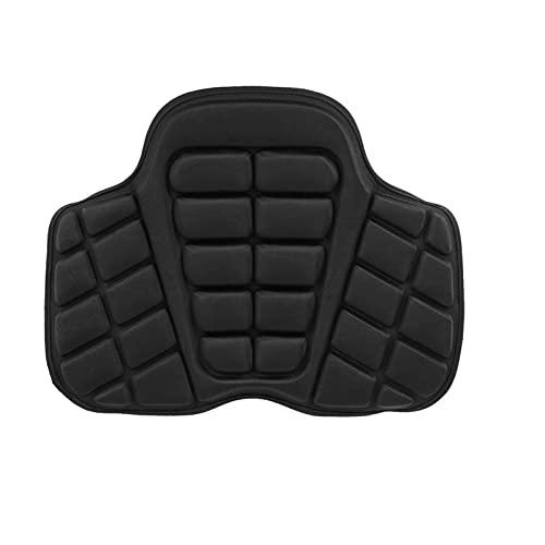 Cojín de Asiento de sillín de moto Almohadilla de aire para motocicleta cubierta de asiento fresca asiento estera de protección solar cojín de aire de oficina de descompresión inflable para coche eléc