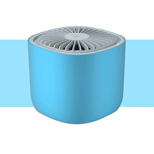 3W Muggenlamp, Elektrische muggenmoordenaar, 30 dB geluid met UV-LED-lichtvanger, Bionic-snelvanger, stralingsvrij voor thuisgebruik binnenshuis,Blue