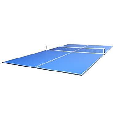 JOOLA 4-Piece Tetra Table Tennis Conversion Top with Net Set