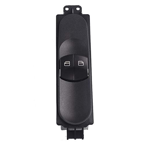 KUANGQIANWEI Botonera elevalunas Ajuste para Mercedes Benz Sprinter Fit para VW Crafter 2006-2015 Interruptor de Control de la Ventana eléctrica 9065451513