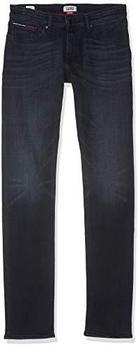 Tommy Hilfiger Herren SLIM SCANTON MBLKS Slim Jeans, Blau (Marina Bl Bk Str 911), W33/L32