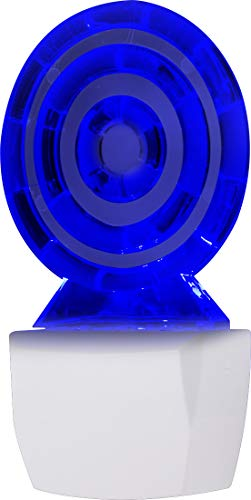 GE LED Lollipop Night Light, Clear with Blue Glow 10934