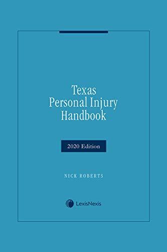 Texas Personal Injury Handbook (English Edition)