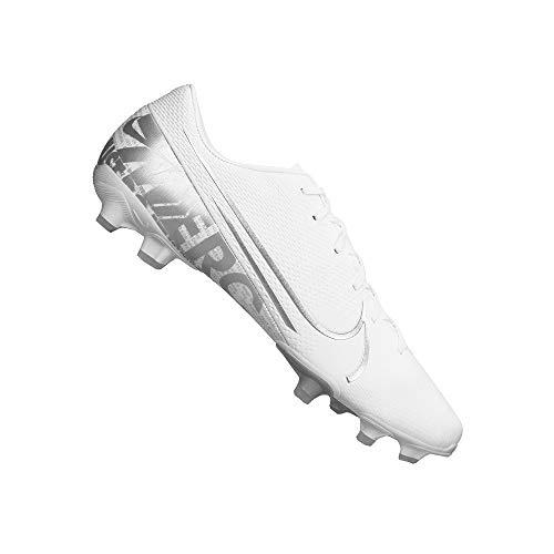 Nike Performance Mercurial Vapor 13 Academy MG Fußballschuh Herren weiß/Silber, 7.5 US - 40.5 EU - 6.5 UK