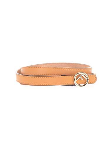 Luxury Fashion | Fendi Dames 8C0591A5DYF0TUD Beige Leer Riemen | Lente-zomer 20