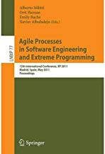 [(Agile Processes in Software Engineering and Extreme Programming )] [Author: Alberto Sillitti] [May-2011]