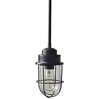 Stone & Beam Jordan Industrial Pendant With Bulb