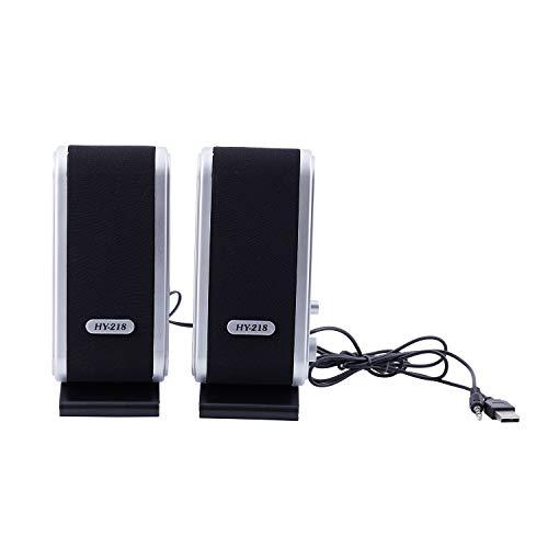 Dasing NEW 120W USB Power Desktop Computer Notebook Audio Speaker 3.5mm Earphone Jack