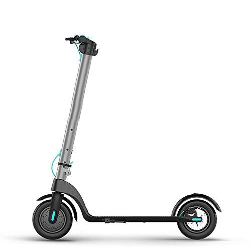 ConvenientMonopatín eléctrico Plegable Bicicleta Batería de Litio Hombres y Mujeres Adultos Ultraligero Portátil Pequeño Mini Batería de Viaje Coche