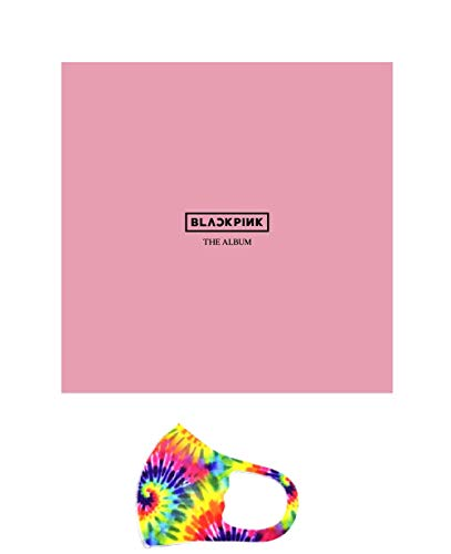 BLACKPINK The Album [Version 2] CD / Photobook / PostCard Set / Credits Sheet / Lyrics Booklet / Photocards / Postcards / Sticker / gift (mask)