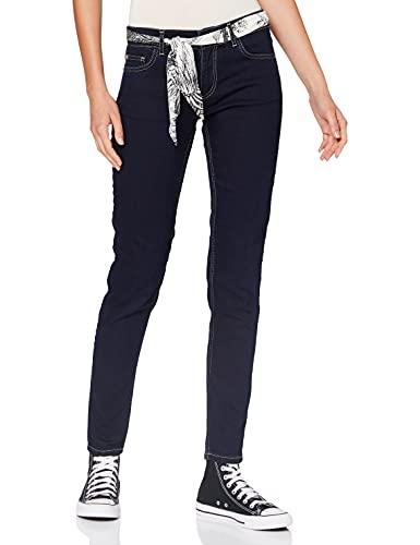 Cavalli Class Jeans Donna, Indigo, 30 para Mujer