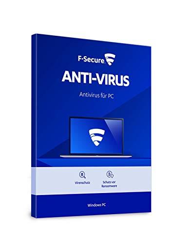 F-Secure Anti-Virus Update - 1 Jahr / 1 Gerät für PC, immer die aktuellste Version [Online Code]