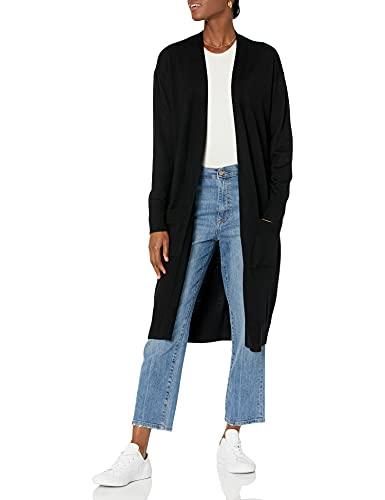 The Drop Women's Daisy Long Cardigan Sweater