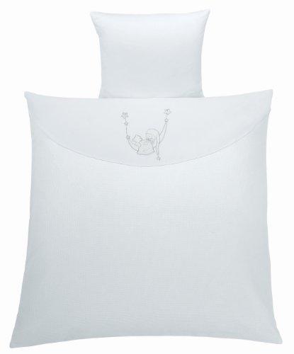 Julius Zöllner 240-1064-05 - Parure de lit pour berceau - blanc - Taille: 80 x 80 cm / 35 x 40 cm