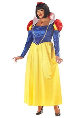 Plus Size Womens Snow White Costume 3X