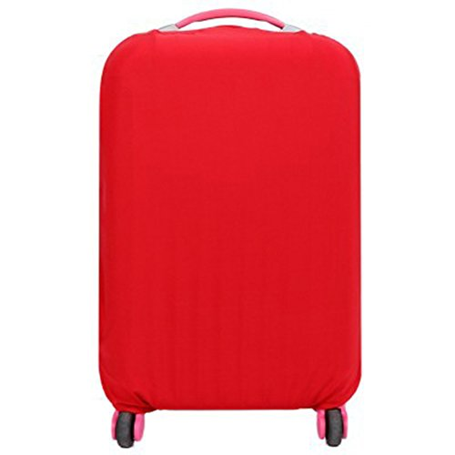 WINOMO Funda de maleta Cubierta Maleta de Equipaje con 18-20 pulgadas (Rojo)
