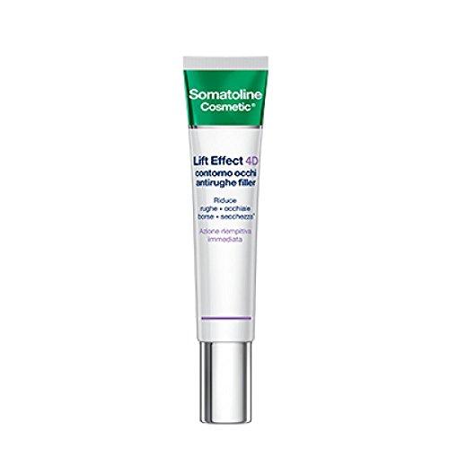 Somatoline Cosmetic Lift Effect 4D Contorno Occhi Antirughe Filler - 15 ml