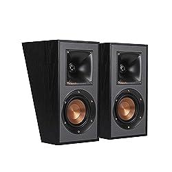 top 10 dolby atmos enabled speakers Klipsch R-41SA Powerful Home Speaker Set, 2 Black Parts