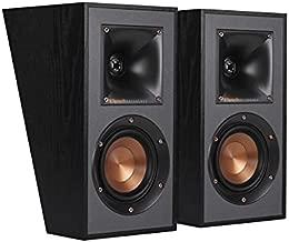 Klipsch R-41SA Powerful Detailed Home Speaker Set of 2 Black