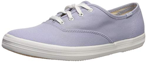 Keds Women's Champion Spring Solids Lace Up Sneaker, Lavender, 6.5 M US