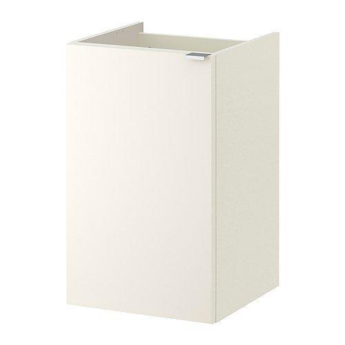 IKEA LILLÅNGEN Waschkommode mit einer Tür; in weiß; (40x38x64cm)