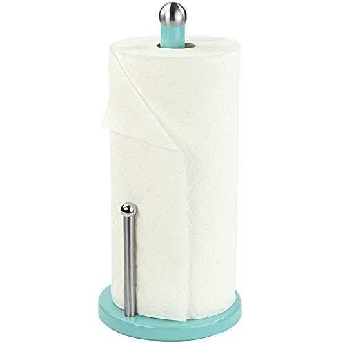 Home Basics Paper Towel Holder (Turquoise)