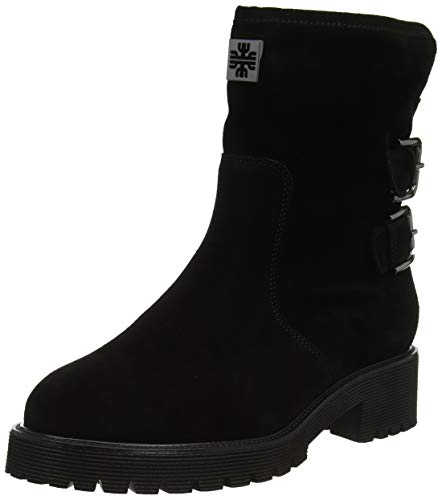 Högl Damen Moto Biker Boots, schwarz (schwarz 0100), 42 EU