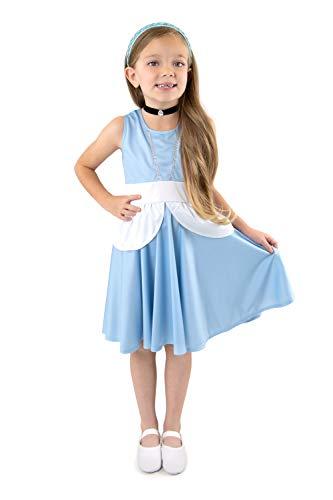 Little Adventures Cinderella Princess Twirl Dress (4)