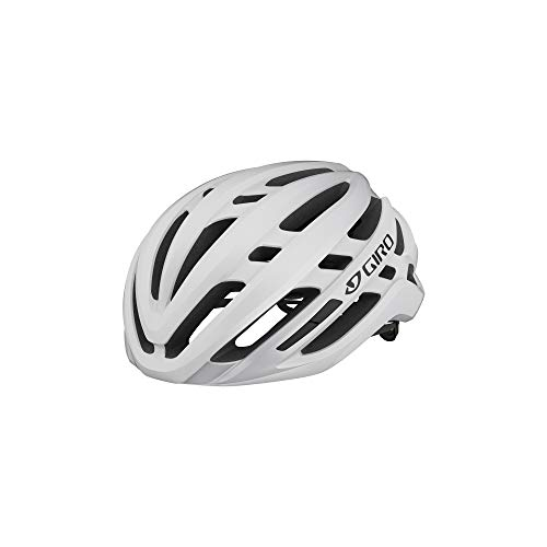 Giro Agilis MIPS Mens Road Cycling Helmet - Medium (55-59 cm), Matte White (2021)