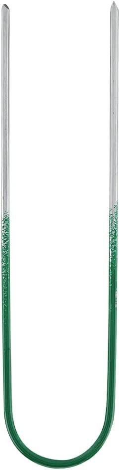 Mxzzand Landscaping Stakes Durable Steel PCS Ground 100 Excellent High order