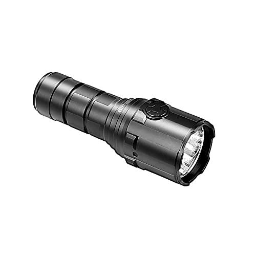 IMALENT R30C - Mini linterna táctica EDC 9000 lúmenes, 6 modos de linterna integrada en un puerto micro USB de carga rápida, batería 21700 4000 mAh, para camping, senderismo, hogar, resistente al agua