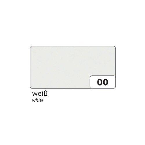 Folia Transparentpapier 42g/m², 70x100cm, 25 Bogen, weiß