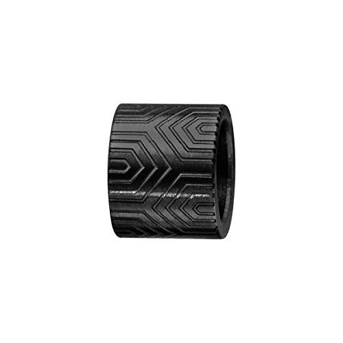 Hora & minutos–charms hombre acero negro–diseño azteca