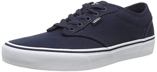 Vans Herren Atwood Canvas Total Sneakers, Blau (Navy/White 4K1), 45 EU