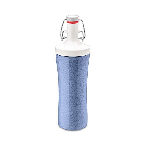 Koziol Trinkflasche 425ml, Organic blau, 3796308