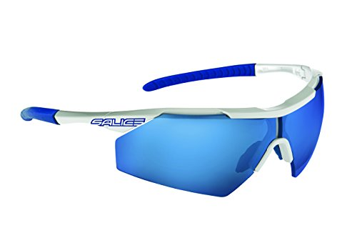 Salice 004RW Sonnenbrille, Weiß/RW Blau