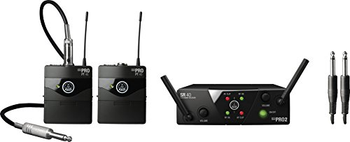 AKG Pro Audio WMS40 Mini2 Instrument Wireless Microphone System US25CD