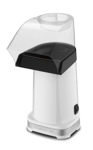 Cuisinart CPM-100W EasyPop Hot Air Popcorn Maker, White
