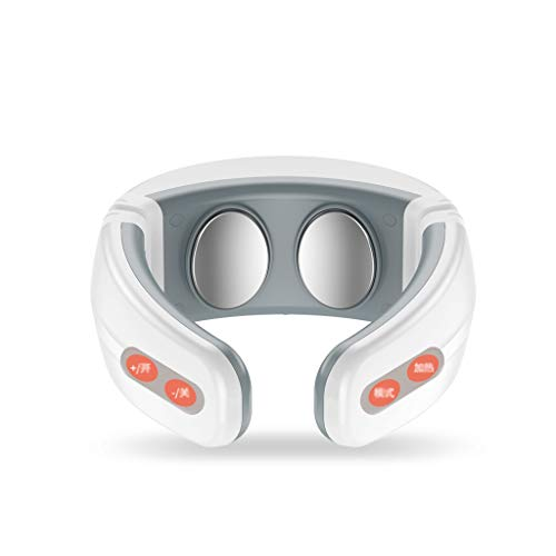 Hals-Massagegerät Hals Multifunktions-Therapie Verschiedene Hyperthermie Magnetische Nackenmassagegerät Tragbare Infrarot-Heizung Hals Behandlung Instrument Drahtlose Fernbedienung Erntedankgeschenk
