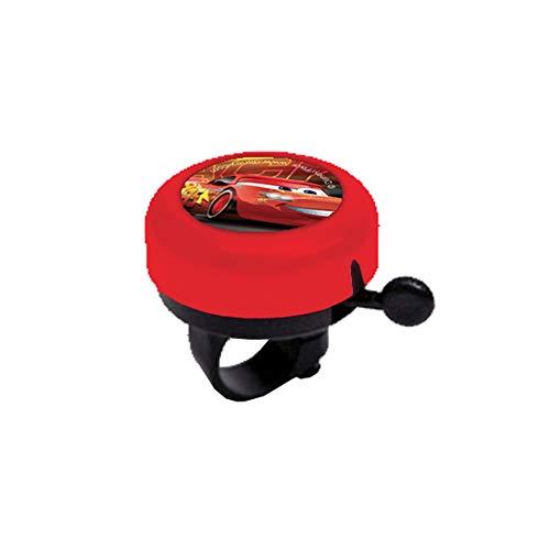 Disney Cars Metallglocke für Kinder, Rot, Einheitsgröße (Ausrüstung)