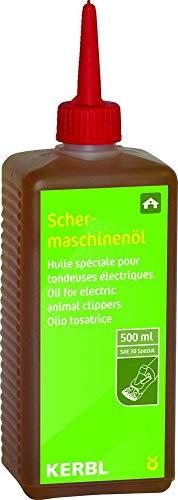 Kerbl 1850489 Schermaschinenöl Constanta 500 ml