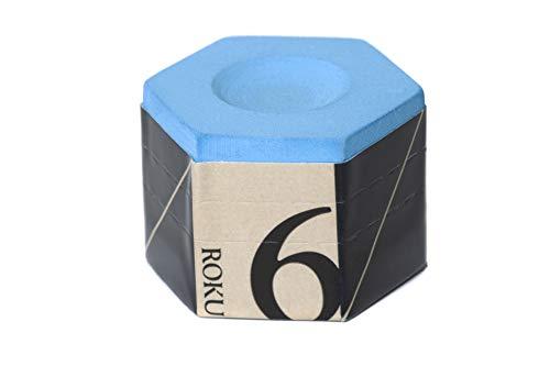 Kamui Roku Pool cue Billiard Chalk - Blue