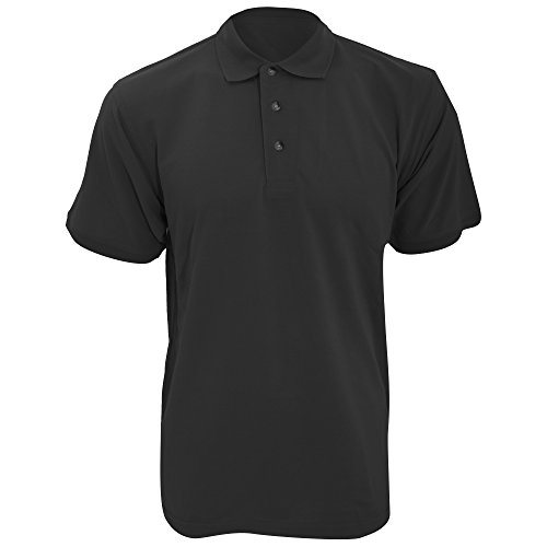 KUSTOM KIT KUSTOM KIT Workwear Herren Polo-Shirt, Kurzarm (S) (Kohlegrau)