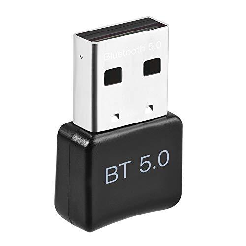 PC用USB Bluetoothアダプタ、PC用Bluetooth 5.0ドングルWindows 10 / 8.1 / 8/7、コンピュータ/ラップトップ用ワイヤレスBluetoothレシーバー転送